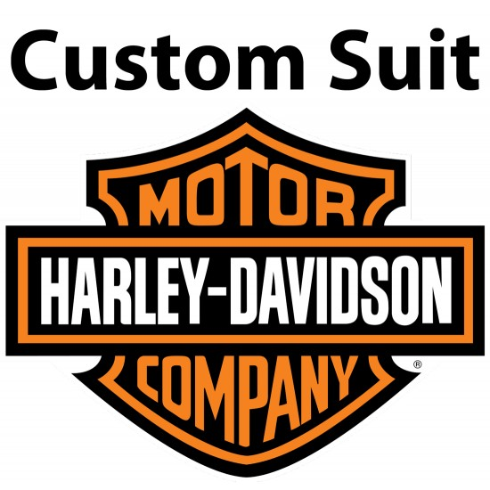 Custom Made HARLEY Leather Motorcycle Suit
