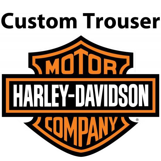 Custom Built HARLEY Leather Trouser