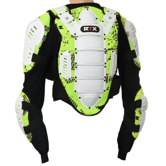 RTX MAX Body Chest And Back Dorsal Protection CE L1 Armoured Jacket