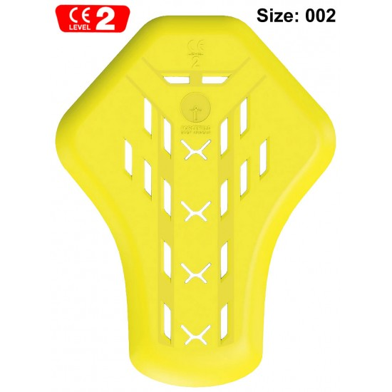 Forcefield ISOLATOR 2 Back Protection Armoured Motorcycle Jacket Insert Size 002