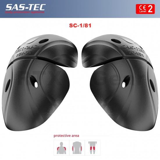 SAS-TEC German Engineered CE Level 2 Motorcycle Armour Biker SUIT Protection 9 Piece Inserts - Set 2