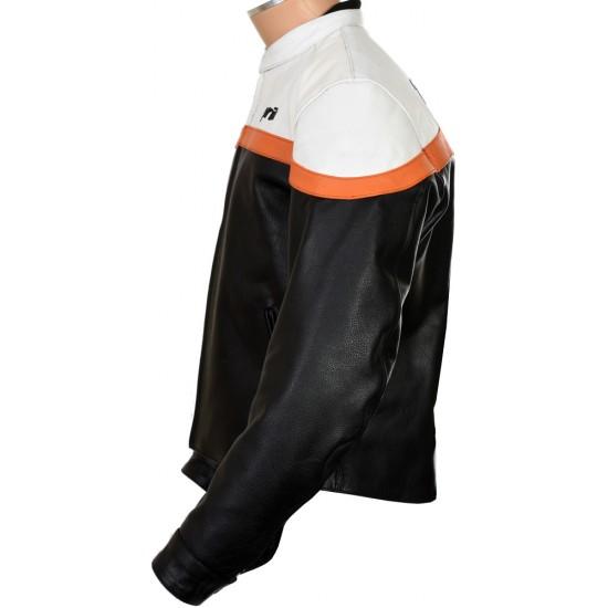 Aprilia Racing Classic Streetbiker Leather Jacket