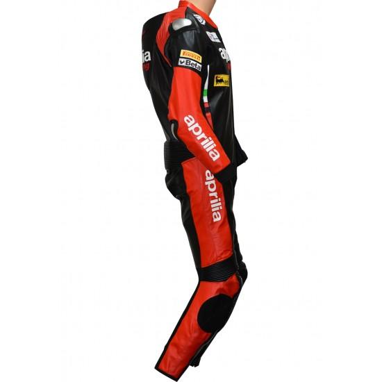 Aprilia Racing Max Italia SBK Special Edition Biker Race Leathers