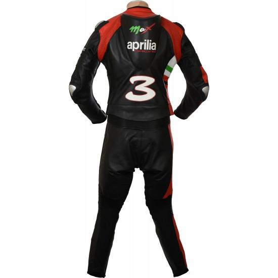 Custom Made APRILIA Leather Motorcycle Suit