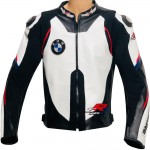 BMW S1000RR Super Sports Motorcycle Leather Biker Jacket