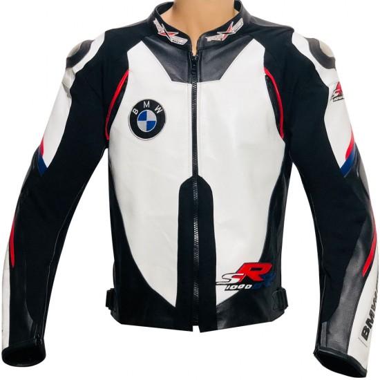 BMW S1000RR Super Sports Motorcycle Leather Biker Jacket
