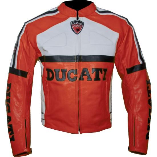 Custom Built DUCATI Leather Motorbike Jacket