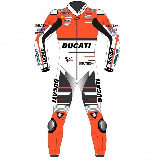 MotoGP Andrea Dovizioso Ducati Team Motorcycle Suit