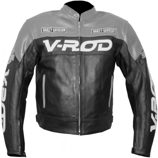 Custom Built HARLEY Leather Motorbike Jacket