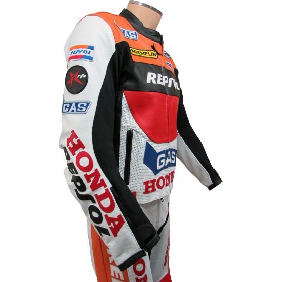 LADIES REPSOL GAS Honda CBR Motorcycle Suit
