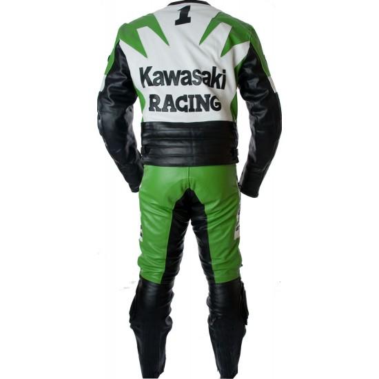 Kawasaki Ninja Green Racing Leather Suit