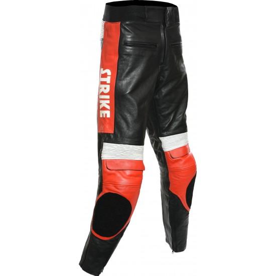 Custom Built LUCKY STRIKE Leather Trouser
