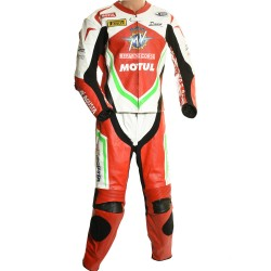 MV Agusta GP Italia Edition Motorcycle Leather 2 Piece Suit