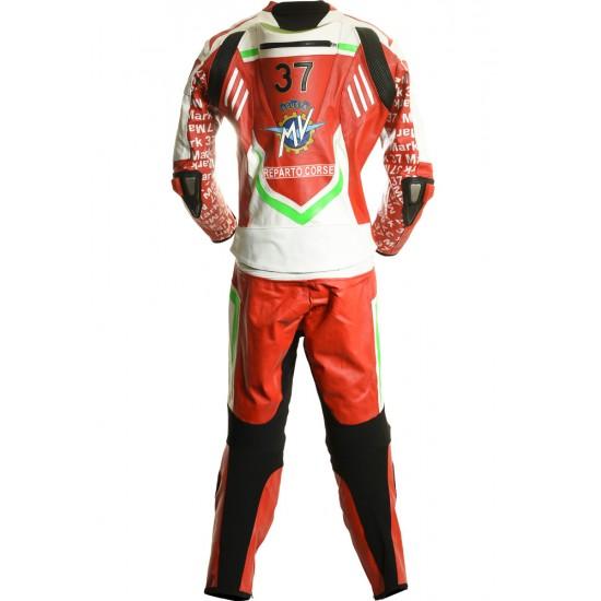 MV Agusta GP Italia Edition Motorcycle Leather 2 Piece Suit