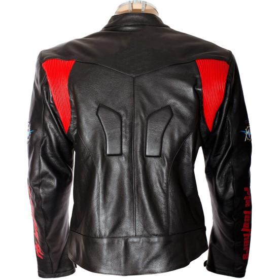 Custom Made MV AGUSTA Leather Motorbike Jacket
