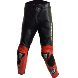 MV Agusta WSB Track Pro Edition Leather Biker Trouser
