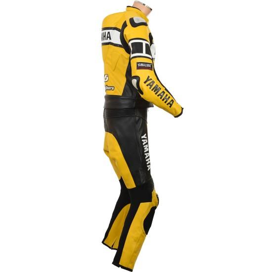 WGP Yamaha Yellow Rossi 46 Yellow Leather Biker Suit
