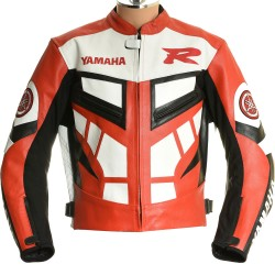 SALE - Yamaha CLassic R Sports Red Motorbike Jacket