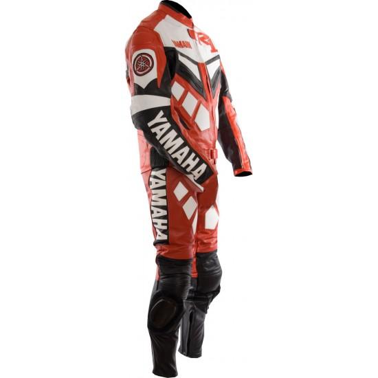 Custom Made YAMAHA Leather Motorcycle Suit