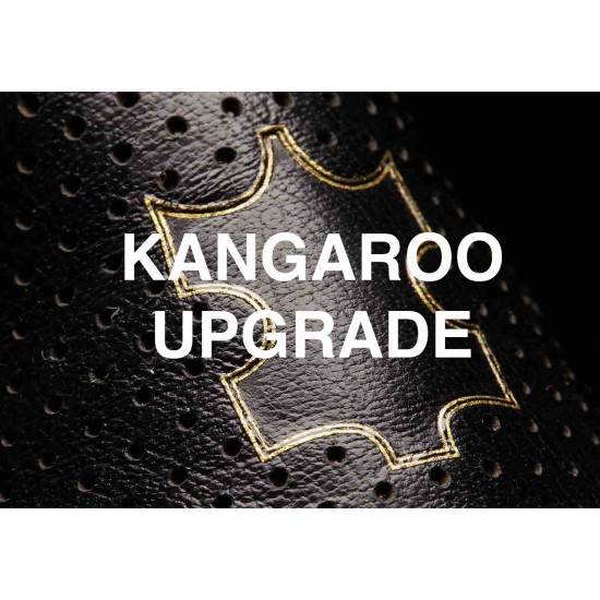 KANGAROO Leather Custom Upgrade Add-on for Motorcycle Jacket Suit or Trouser