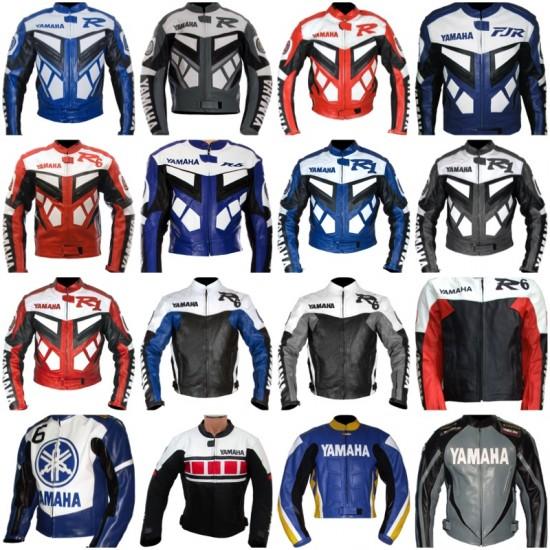 Custom Built YAMAHA Leather Motorbike Jacket